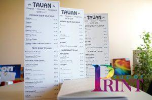 Печат на менюта за кръчми www.superprint.bg