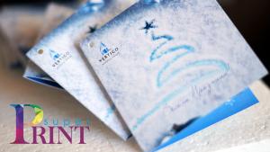 Печат на поздравителни картички