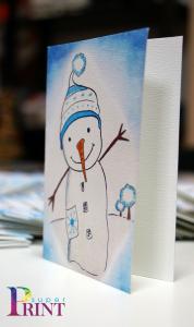 Изработка на празнични картички
